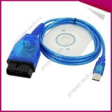 Diagnostický kabel VAG KKL 409.1 OBD II - USB